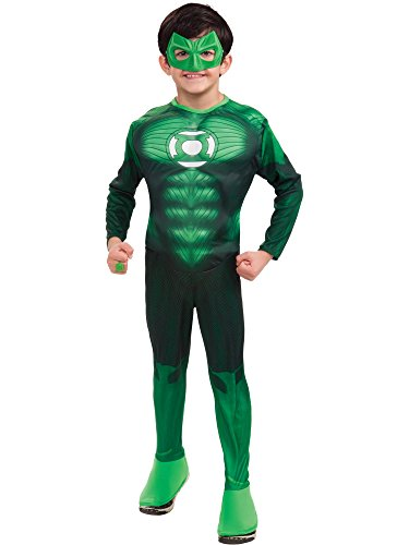 Green Lantern Child's Deluxe Hal Jordan Costume with