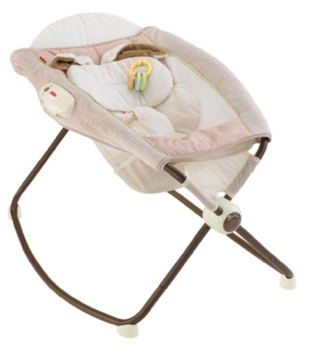 Fisher-Price Deluxe Rock 'n Play Sleeper, Snugabunny