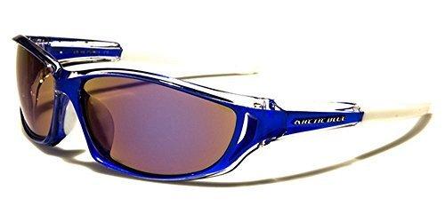 Arctic Blue - Lunettes de soleil - Homme Noir Noir BLUE/CLEAR/WHITE