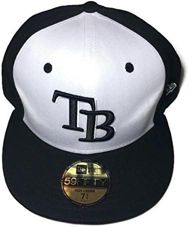 online for sale los angeles performance sportswear Amazon.com : New Era MLB Tampa Bay Rays High Heat 2 Tone 59FIFTY ...