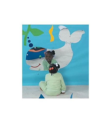 Sea Me Whale Mirror by Children's Factory
