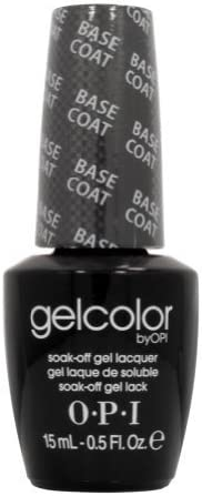 Opi Gelcolor Collection Nail Gel Lacquer, Base Coat, 0.5 Fluid Ounce by GEO Marketing Inc LLC