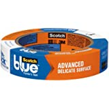 "3M 2080EL-24N 1"" ScotchBlue™ Painters Masking Tape Delicate Surface"