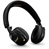 Marshall Mid Active Noise Cancelling On Ear Wireless Bluetooth Headphone Black (04092138)