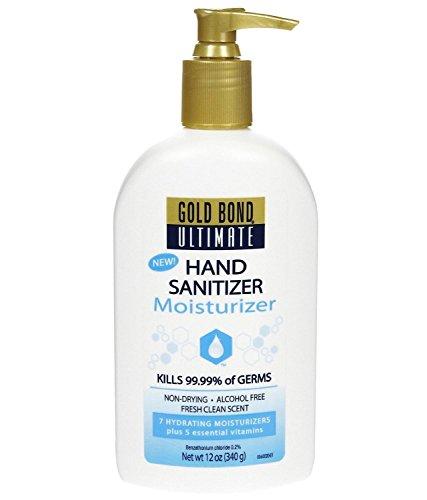 Gold Bond Ultimate Ultimate Hand Sanitizing Moisturizer - 12 oz - 2 pk