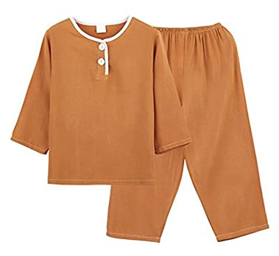 LLIOFUS Little Boys&Girl 2ps Soft cotton Sleepwear cool summer pajamas sets