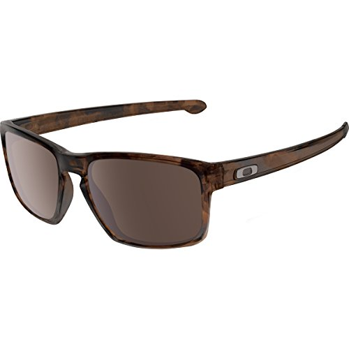 Oakley Mens Sliver Lifestyle Sunglasses One Size Matte Brown Tortoise/Warm ()