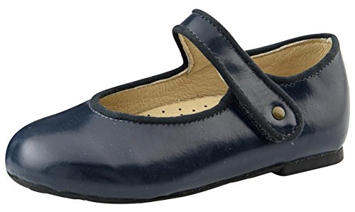 Old Soles Girl's Praline Lady Jane Leather Mary Janes (Baltic, 29 M EU/12 M US Little Kid)