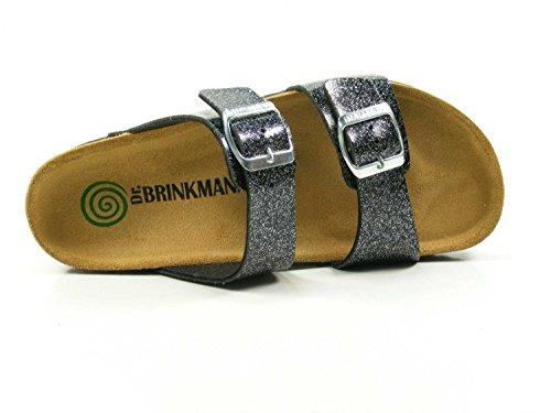 Dr. Brinkmann Womens-pantolette Grey 701178-9 Grigio
