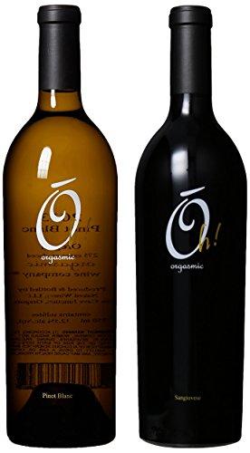 "Oregon & Washington Reserve Wine ""Tonight's the Night"" Bundle, Mixed Pack, 2 x 750 mL, by Orgasmic Wine Company"