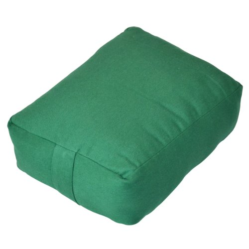 YogaDirect Zen Pillow with Cotton Batting, Green