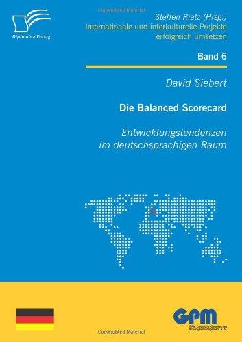 Die Balanced Scorecard: Entwicklungstendenzen im deutschsprachigen Raum