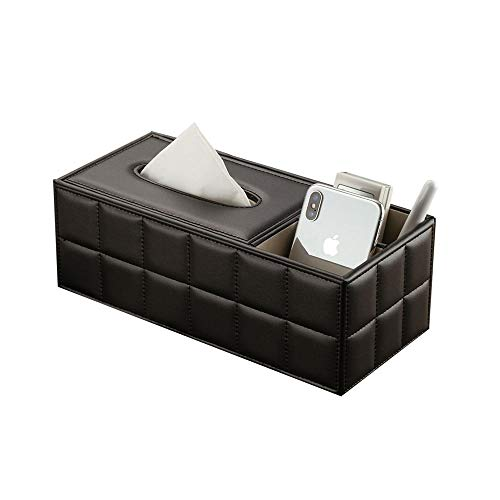 Tissue Box Living Room Multi-Function Desktop Remote Control Storage Box Coffee Table