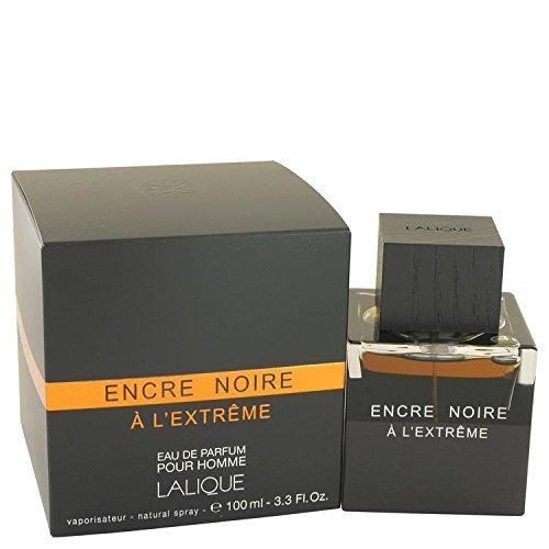 Encre Noire A L'extreme by Lalique Eau De Parfum Spray 3.3 oz for Men - 100% Authentic