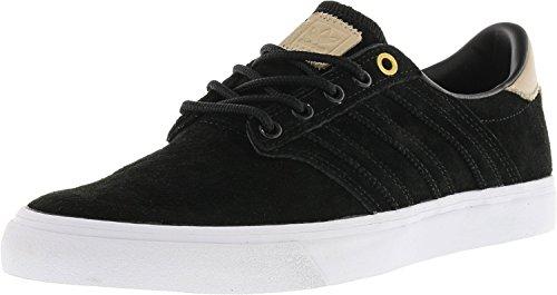 Adidas Skateboarding Mens Seeley Premiere Classified Core Black Pale Nude Footwear White 8 5 D Us