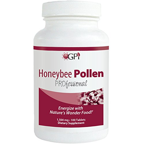 Bee Pollen - Honeybee Professional Pollen 1500mg - 100 Tablets – Nutrients for Health by WT Rawleigh