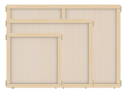 """KYDZ Suite 1512JCTPW Panel, T-Height, 36"""" Wide, Plywood"""
