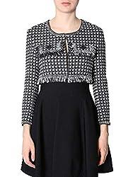 Boutique Moschino Women S A050758171555 Black Cotton Jacket