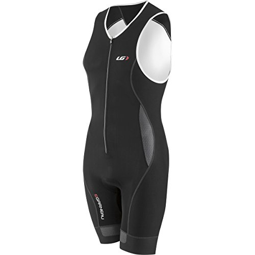 Louis Garneau Men's Men Pro Suit Iron Gray/Black Swimsuit SM ()