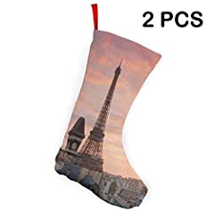 ATTENTION: THIS IS NOT STRETCHABLE!SPECIFICATIONS: Weight: 0.14 lb Size: 7.5 x 10 inches. Style: Rustic, traditional. Package Includes: 2 x Christmas Stockings JUST FOR DECOR OR SMALL GIFTIf you have any further questions, please feel free to...