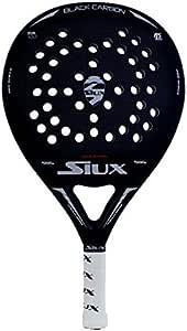 Pala padel SIUX Black Carbon Mate: Amazon.es: Deportes y aire libre
