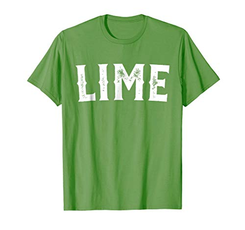 Lime Salt Tequila Taco Costume Shirt Halloween Group -
