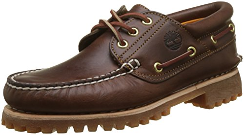 (Timberland Men's Classic 3 Eye Lug, Brown 11M)