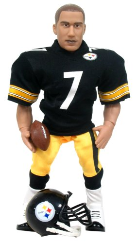 NFL Action Figure - Ben Roethlisberger in a Pittsburgh Steelers Uniform by Elite Sports