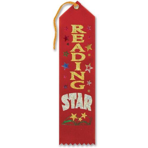 Beistle Reading Star Award Ribbon]()