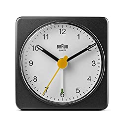 Braun BC02BW Travel Alarm Clock Black/White
