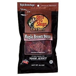 Bass Pro Shops Uncle Bucks Premium Maple Brown Sugar Ham Jerky 6.5 oz.