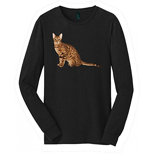 Bengal Cat Long Sleeved shirt | Great Bengal Cat shirt with a Creative Quote | Cool shirt for Bengal Cat (S)