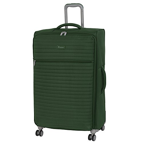 "it luggage 31.3"" Quilte Lightweight Spinner, Green Khaki"