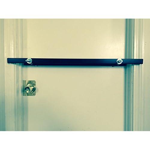 Drop Bar Pro Model 36 Exit Door Security Bar for 36 Inch Wide Single