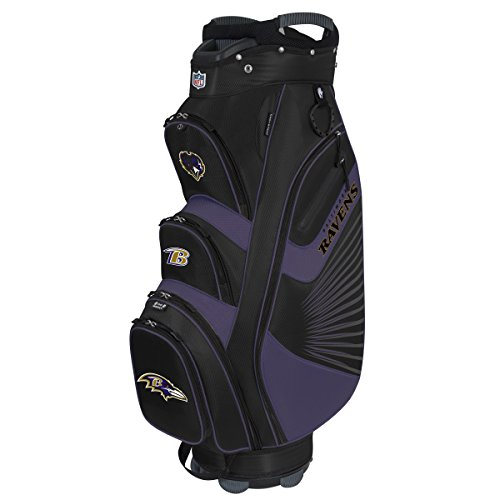 Team Effort NFL Baltimore Ravens The Bucket II Cooler Cart Bag -