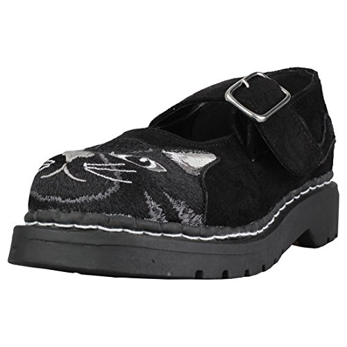u Kitty Embroidery Mary Femmes k Chaussures T Jane 1Udwqqv