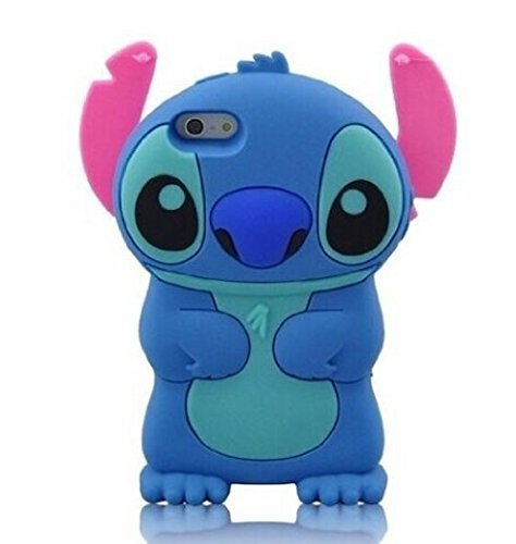 online retailer 981a3 793e6 iPhone 6S Plus Case,iPhone 6 Plus Case Express Prime Case, Phenix-Color 3D  Cute Cartoon Soft Silicon Gel Back Cover Case for iPhone 6/6S Plus ...