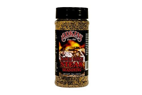 Adkins Ranch Style Steak Seasoning - 12 OZ All Natural