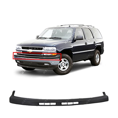MBI AUTO - Textured, Black Front Upper Bumper Top Pad for 2000-2006 Chevy Tahoe Suburban 00-06, GM1051103 ()