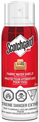 Scotchgard Fabric Water Shield, 283 Grams, Furniture Protector Spray, Stain Repellent, Fabric Protector