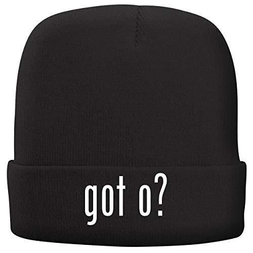 got o? - Adult Comfortable Fleece Lined Beanie, Black ()
