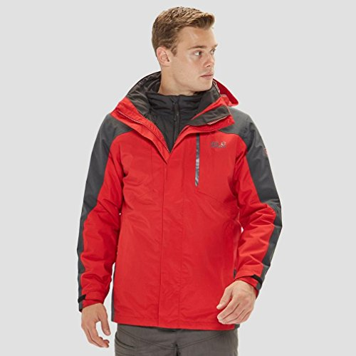 Viking Sky Hardshell 1 3 Men窶冱 Jack In Jacket Wolfskin Uq1WP55nFC