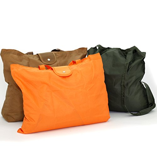 Price comparison product image 3 LIGHT ECO FRIENDLY SHOPPING BAGS FOLDABLE BACKPACK TRAVEL GROCERY REUSABLE
