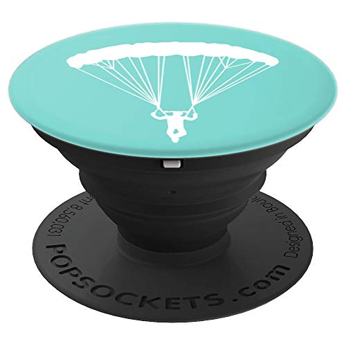 Skydiver Silhouette PopSockets Grip Stand for Phones/Tablets - PopSockets Grip and Stand for Phones and - Diver Silhouette