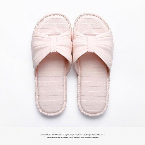 de Mujer Inicio Baño Masculino Inicio Cool Cubierta plástico de Bañera y 36 Femenino Rosa fankou Verano Zapatillas Inferior 37 Suave Parejas Zapatillas Antideslizante q5tXTwWwI