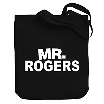 good Teeburon Mr Rogers Canvas Tote Bag - suzsalons.com.au 097981bcea