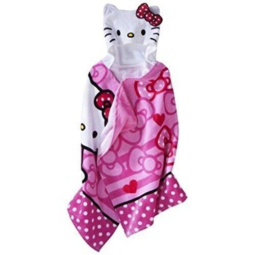 Hello Kitty Hooded Towel by Hello Kitty