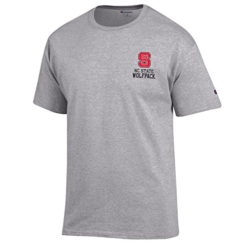 Nc State Wolfpack Classic Shirt (NCAA North Carolina State Wolfpack Men's Champion Men's Flexbone Short sleeve T-Shirt, XX-Large, Gray)