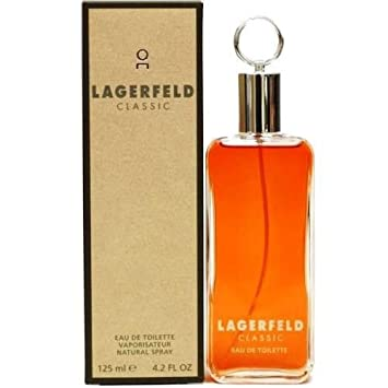 Eau De Toilette Spray – Lagerfeld Classic – 125ml 4.2oz