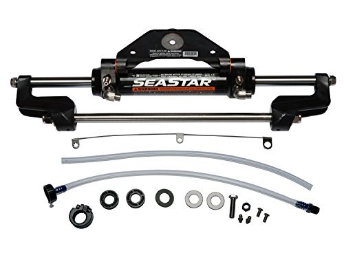- SeaStar HC5358-3 Front Mount Hydraulic Outboard Marine Steering Cylinder by SeaStar